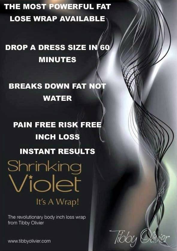 Shrinking Violet inch loss wrap